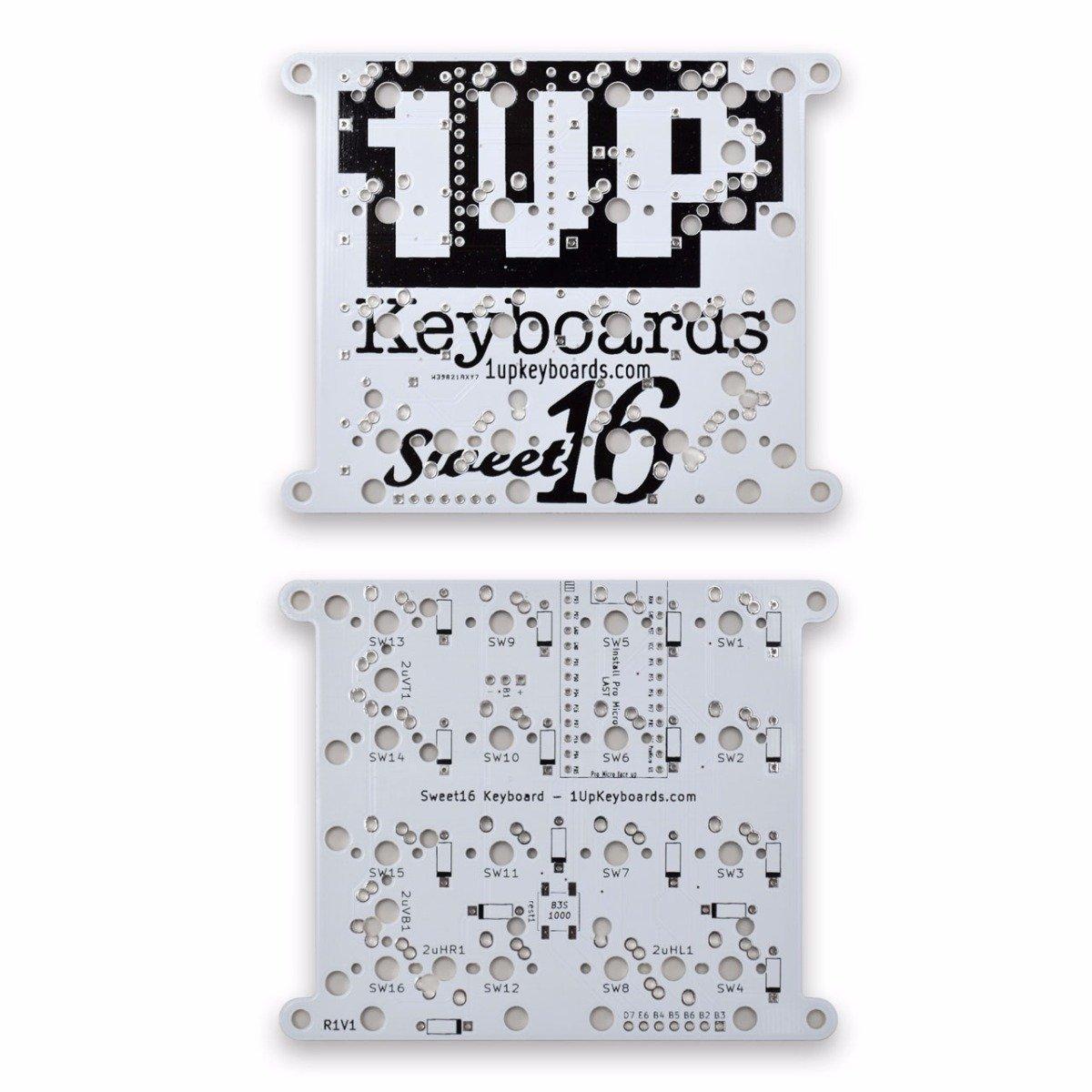 Sweet 16 Macro Pad White » 1upkeyboards